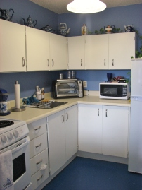 A typical kitchen in one of our apartments