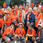 Our first time at the Toronto Challenge, an annual walk/run for seniors!